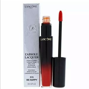 LANCOME LABSOLU LACQUER GLOSS COLOR 515 BE HAPPY